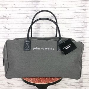 John Varvatos Weekender Travel Duffel Bag NWT
